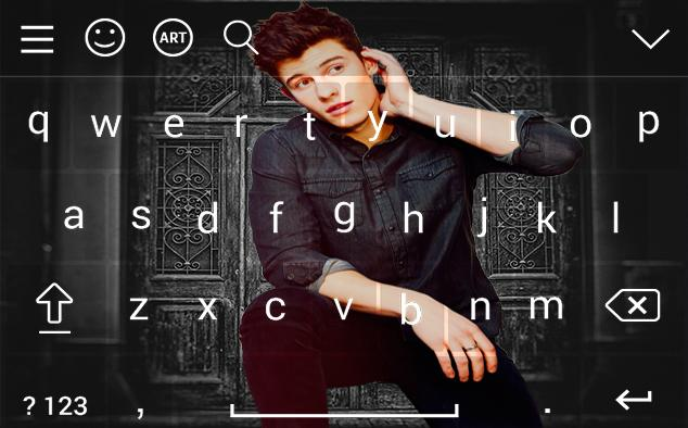 Shawn Mendes Keyboard Theme With Hd Wallpapers Für Android