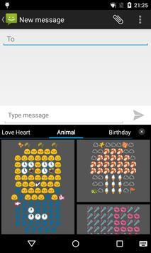 Emoji Keyboard - Animal Art poster
