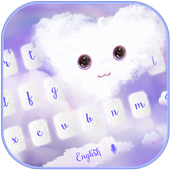 Fluffy Love Cloud Theme for Keyboard icon