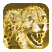 Cheetah Gold Keyboard Theme icon
