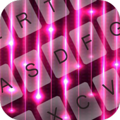 GO Keyboard Pink Neon icon