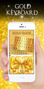 Gold Keyboard screenshot 6