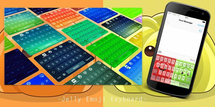 Jelly Emoji Keyboard poster