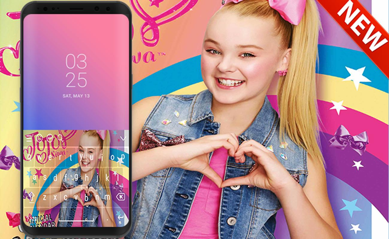 Jojo Siwa Keyboard With HD Wallpapers For Android