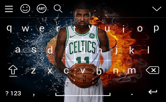 Kyrie Irving Keyboard HD Wallpapers Screenshot