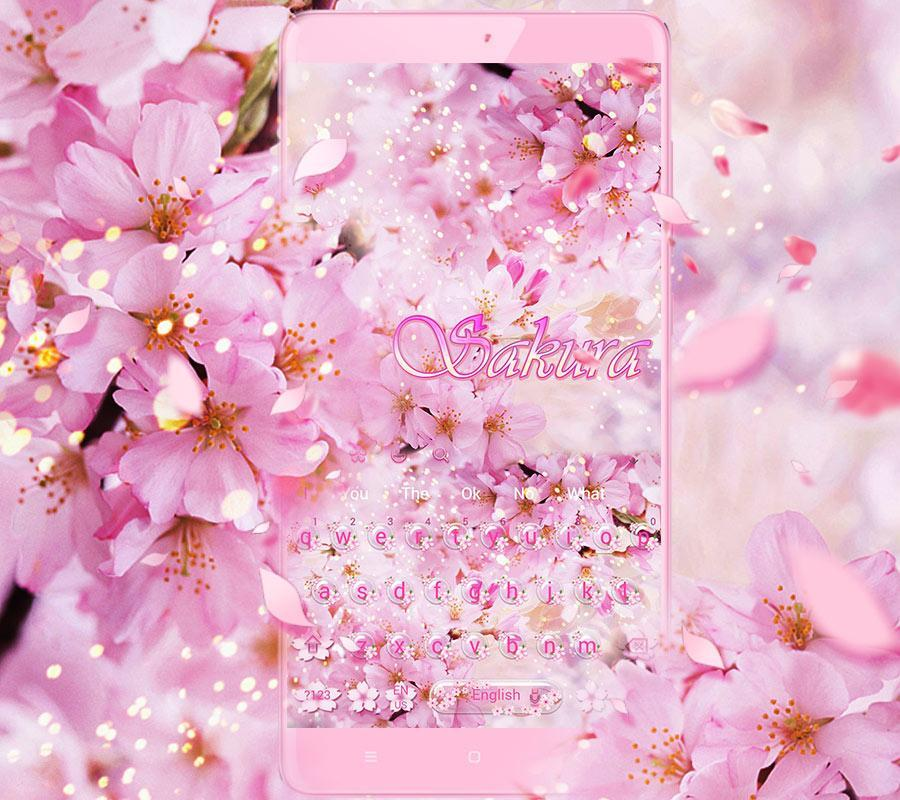 Sakura Bunga Keyboard Tema For Android Apk Download