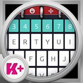 Keyboard Plus Calendar icon