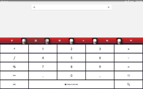 Keyboard Plus Calendar screenshot 11