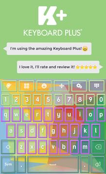 Colors Keyboard poster