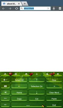 Keyboard Plus Grass apk screenshot