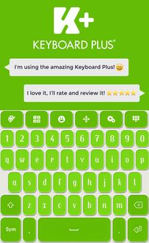 Keyboard Plus Green poster