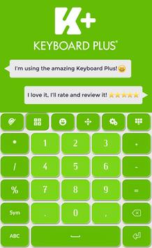 Keyboard Plus Green screenshot 2