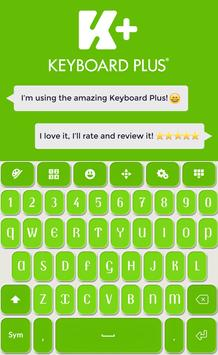 Keyboard Plus Green screenshot 3