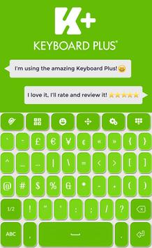 Keyboard Plus Green screenshot 4