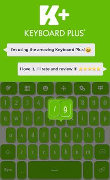 Keyboard Plus Green screenshot 5