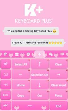 Sweet Pink Love Theme apk screenshot