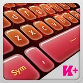 Keyboard Plus Flame icon