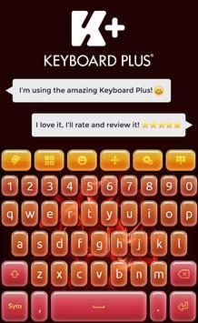 Keyboard Plus Flame poster