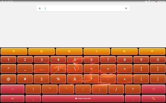 Keyboard Plus Flame apk screenshot