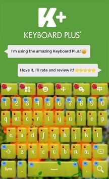 Flowers Keyboard poster