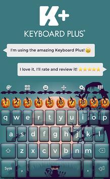 Keyboard Plus Halloween poster