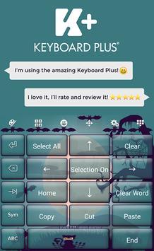 Keyboard Plus Halloween apk screenshot