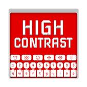 High Contrast Keyboard icon
