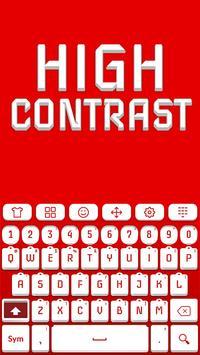 High Contrast Keyboard apk screenshot