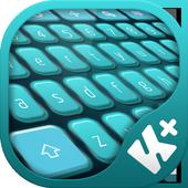 Teal HD Keyboard icon