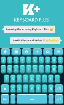 Teal HD Keyboard poster
