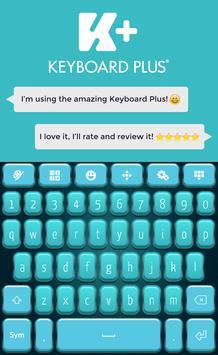 Teal HD Keyboard screenshot 1