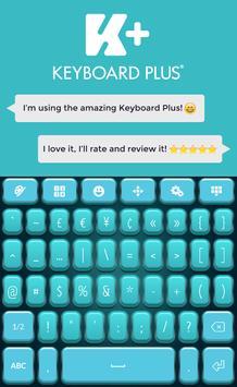 Teal HD Keyboard screenshot 5