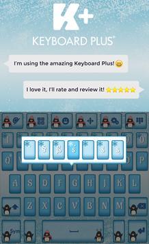 Winter Keyboard apk screenshot