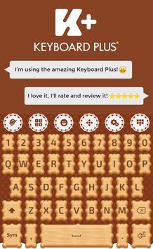 Cookie Keyboard poster