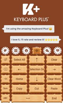 Cookie Keyboard apk screenshot