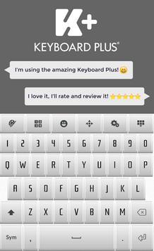 Elegant Keyboard poster