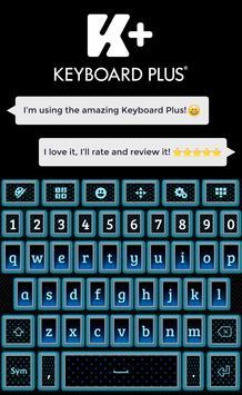 Glow Keyboard poster
