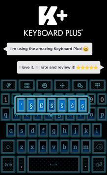 Glow Keyboard apk screenshot