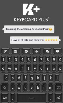 Keyboard Plus Qwerty poster