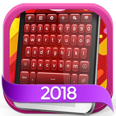 Keyboard Plus Red icon