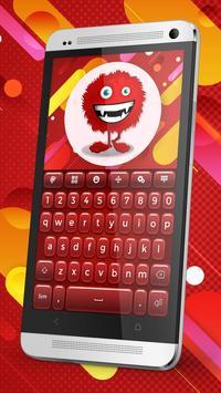 Keyboard Plus Red poster