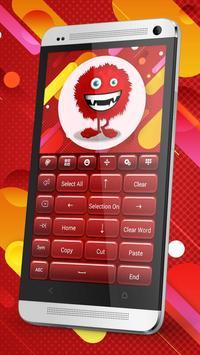 Keyboard Plus Red apk screenshot