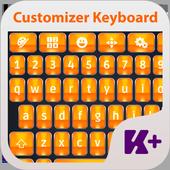 Customizer Keyboard Theme icon