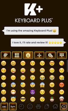 Brown Keyboard Theme apk screenshot