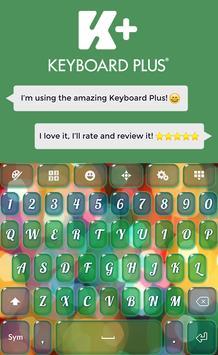 Glow Keyboard Theme poster