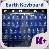 Earth Keyboard Theme icon