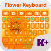 Flower Keyboard Theme icon