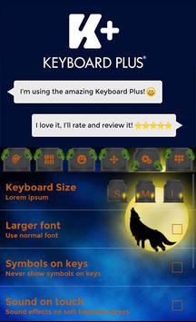 Halloween Keyboard apk screenshot