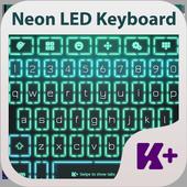 Neon Led Keyboard Theme icon