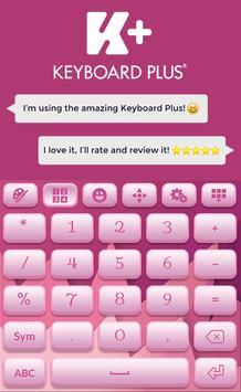 Soft Pink Keyboard Theme apk screenshot
